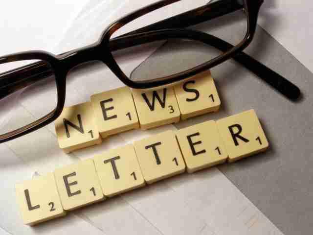 newsletter - Editoria. Newsletter modello preferito da editori per raggiungere utenza e fidelizzarla