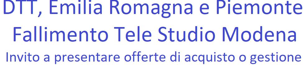 Fallimento Tele Studio Modena banner - Tv & Tlc. Vivendi presenta ad Agcom impegno a trasferire quote eccedenti in Mediaset a soggetto indipendente