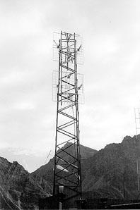 Radio Isarco antenna 1 - Storia della Radiotelevisione Italiana. Radio Isarco International: un piede in Italia, l'altro in Austria