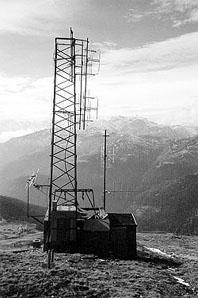 Radio Isarco antenna 2 - Storia della Radiotelevisione Italiana. Radio Isarco International: un piede in Italia, l'altro in Austria