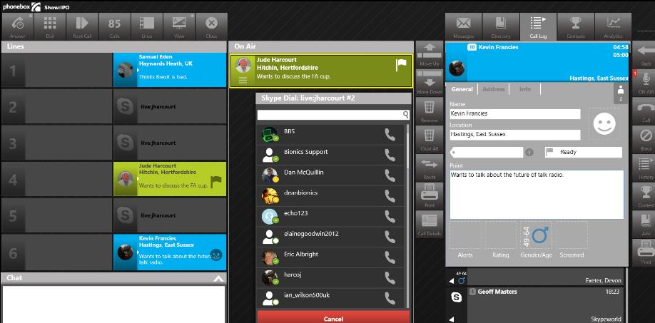 Skype TX for Radio - Radio 4.0. Arriva Skype Tx for Radio che rivoluziona i collegamenti audio