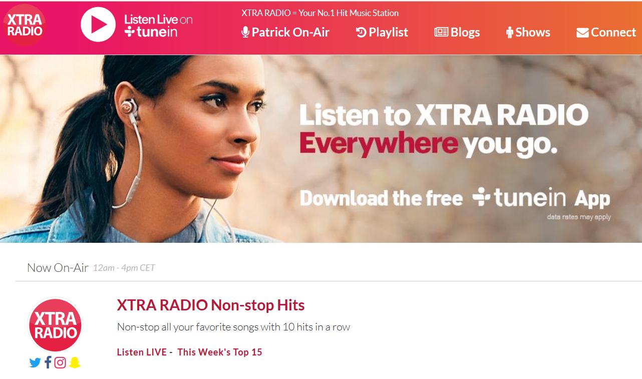 Xtra Radio - Radio 4.0. Chi ha detto che le web radio non fatturano? Il caso  di Xtra Radio: quasi 150.000 euro all'anno e 30.000 ascolti al giorno