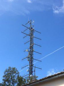 antenne FM logartimiche Soratte Roma 225x300 - Radio e Tv. E' lecito che Mise addebiti maggiori importi in conto terzi ad una emittente piuttosto che ad un'altra perché ha soppresso DOP?