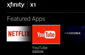 comcast youtube xfinity 300x194 - IP Tv. La guerra per diventare l'aggregatore degli aggregatori. Il nodo dello smarthub