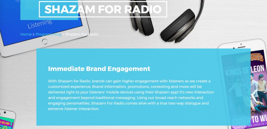 """shazam for radio 1 1024x496 - Radio 4.0. Shazam potenzia """"Shazam for Radio"""": nuove opportunità per il business delle emittenti"""