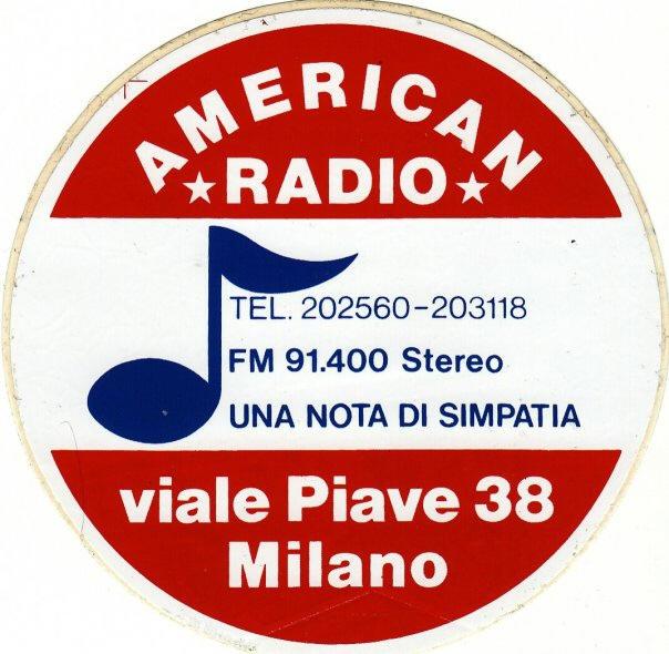 """AMERICAN RADIO MILANO - Storia della radiotelevisione italiana. Milano: da American Radio a Radio Freccia il filo che lega la """"radio libera"""""""
