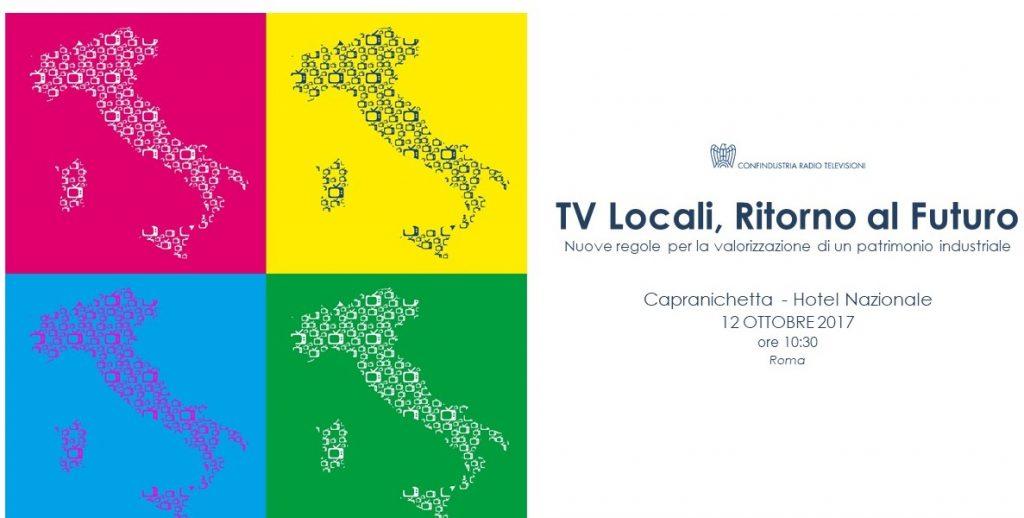 Confindustria evento 12102017 1024x518 - TV Locali, CRTV: Ritorno al Futuro – Nuove regole per la valorizzazione di un patrimonio industriale. Roma 12/10/2017