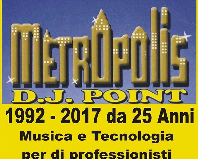 Metropolis DJ 1 660x530 - Radio. Cosa avvicina e cosa allontana i giovani dal medium. Il parallelismo col vinile