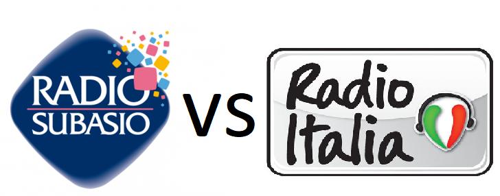 Radio Subasio vs Radio Italia - Radio. I colossi puntano sulla musica italiana. Subasio vs Radio Italia. E gli altri?