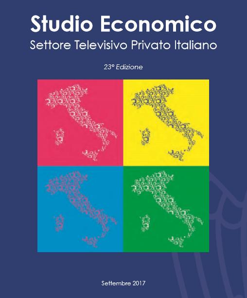 Studio Economico 2017 CRT - Tv. Confindustria pubblica 23° Studio economico settore televisivo privato italiano