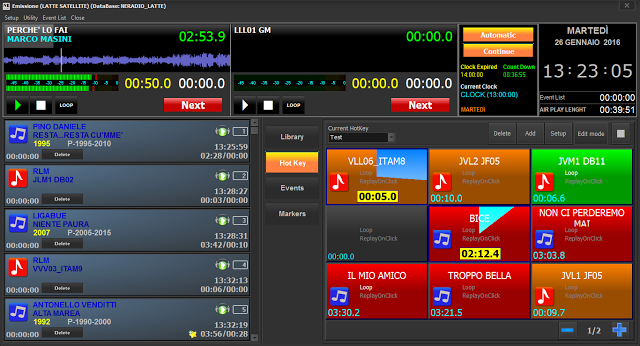 nemediasoft - Radio. Mediahit sceglie NeMedia Soft per la messa in onda: subito Gamma Radio, poi le altre, compresa Sportiva