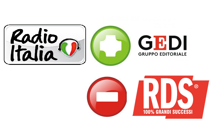 radio italia Gedi RDS - Radio. RDS vicina ad acquisire 25% di Radio Italia Anni 60. Radiomediaset guarda a brand bouquet IP e riparte con Virgin Tv su DTT