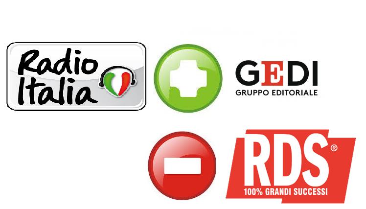 radio italia Gedi RDS - Radio. RDS vicina ad acquisire 25% di Radio Italia Anni 60. Radiomediaset guarda a brand bouquet IP e riparte con Virgin Tv su DTT