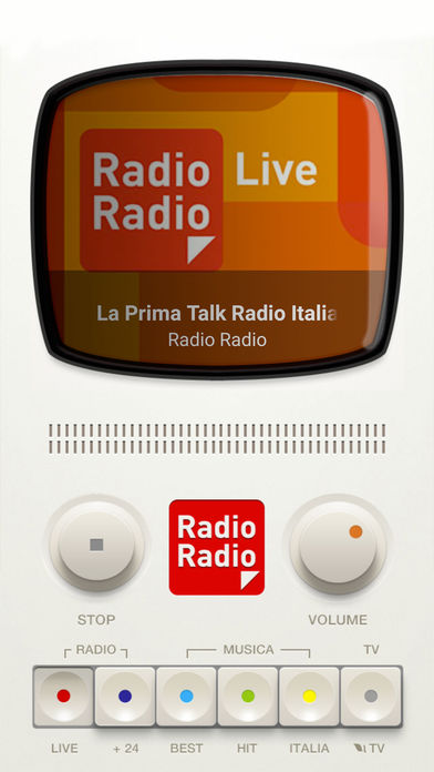 icone, radio radio, app