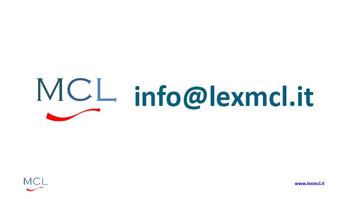 INFO@LEXMCL.IT  - C'azzecca