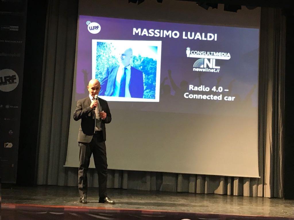 Massimo Lualdi WRF ottobre 2017 VI - Radio 4.0. Come rendere la propria emittente multipiattaforma attraverso i voucher ex dd Mise 24/10/2017