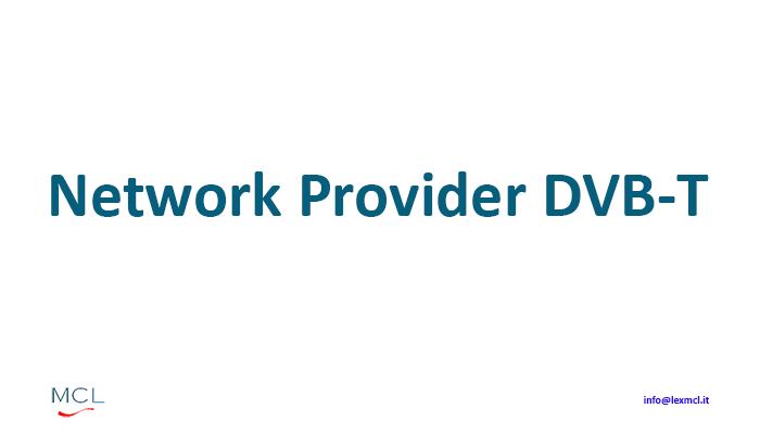 NETWORK PROVIDER DVB T - C'azzecca