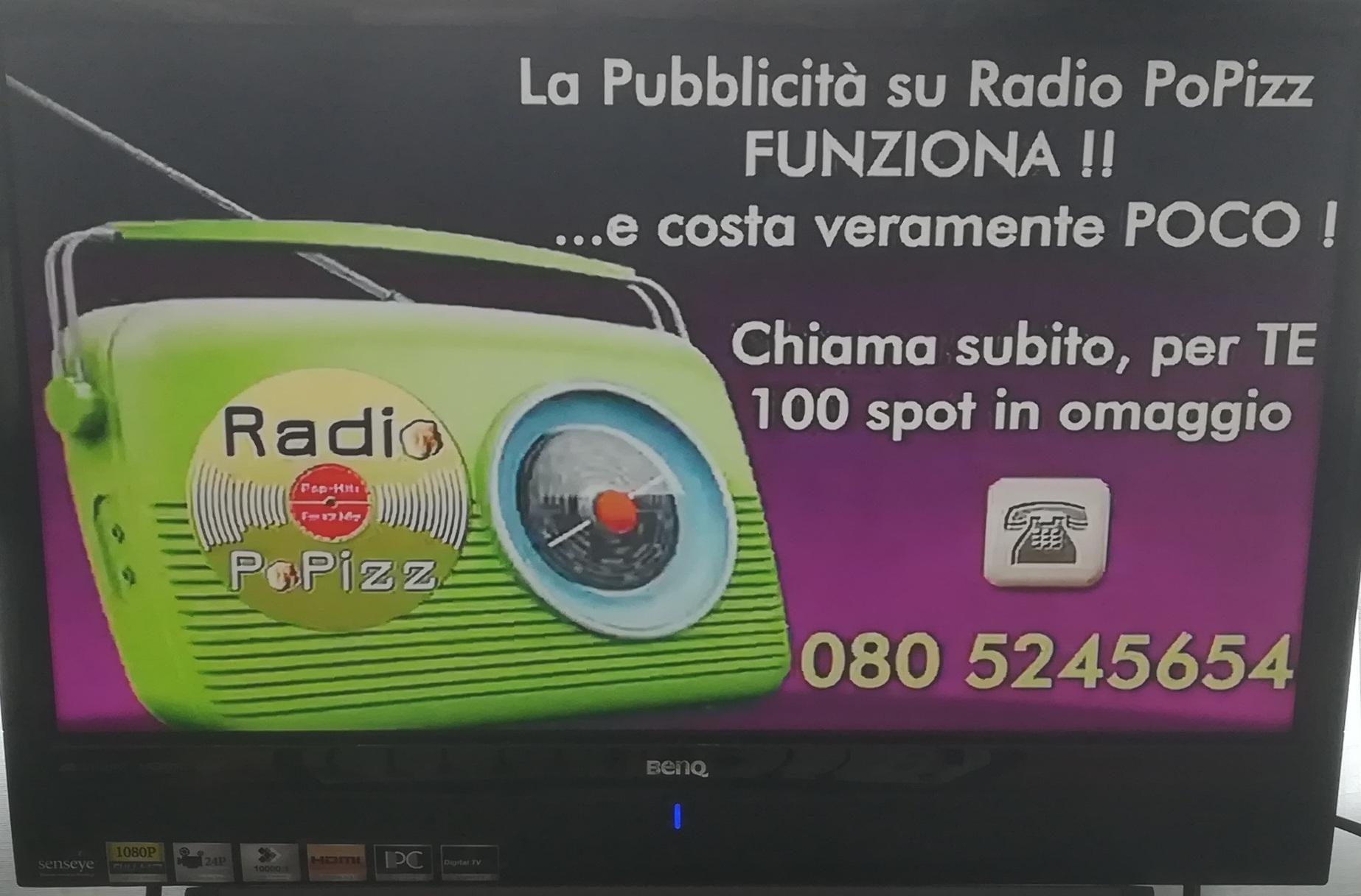 Radio Popizz audiografica - Radio. Cambia l'equilibrio tra le emittenti: i piccoli si convertono sul comunitario e sulla tv. Max 300 commerciali