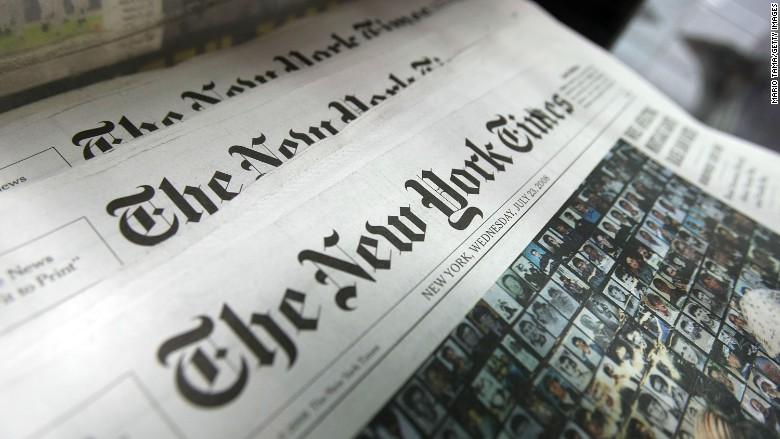 The New York Times - Editoria. Risorgono i dinosauri della carta sul web. NY Times: aumentano abbonamenti digitali