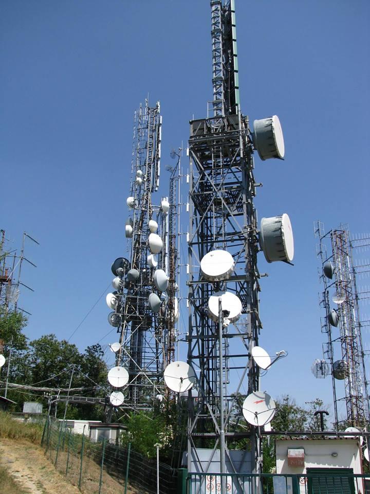 antenne, digitale terrestre, towering
