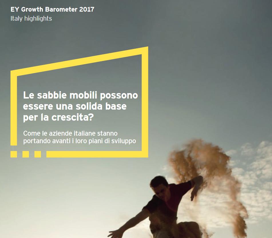 ey growth barometer 2017 italy - Imprese & investimenti. Quarta rivoluzione industriale: si punta tutto su innovazione tecnologica