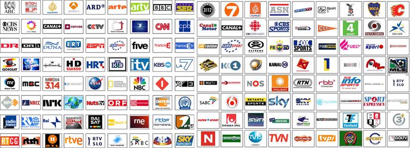 loghi tv - Tv. Sono 427 i canali DTT e sat ricevibili a livello nazionale. Sono prodotti da 118 editori di cui solo 71 italiani