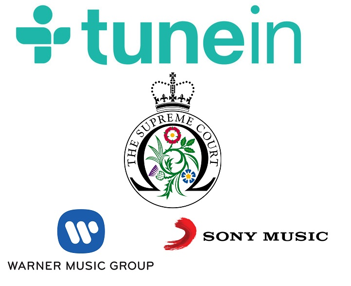 tunein vs sony e warner high court UK - Radio. Sony e Warner contro TuneIn: violato copyright musicale. L'Aggregatore mondiale: siamo solo collettore di flussi streaming