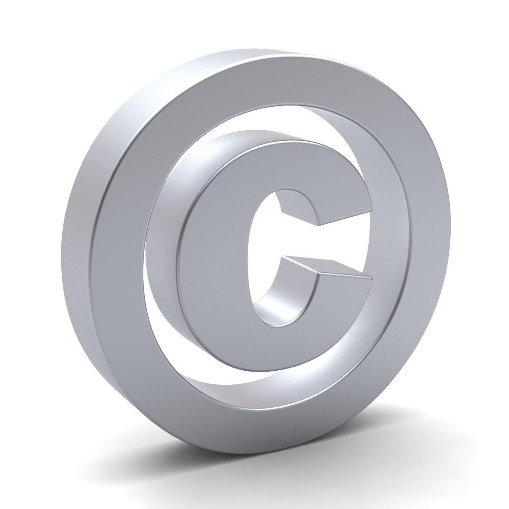 copyright symbol 1024x1024 - Diritto autore. Pubblicata legge Europea 2017 (L. 167/2017): poteri cautelari ad Agcom per interrompere violazioni