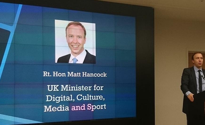 matt hancock - Radio, UK. Deregulation mercato attraverso soppressione norme obsolete sui formati radiofonici