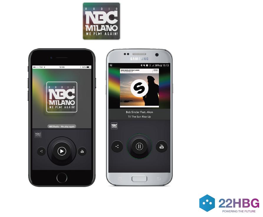 22HBG app NBC Milano - Radio 4.0. Brand bouquet IP: insieme a visual radio sarà novità del 2018. Ecco come funziona