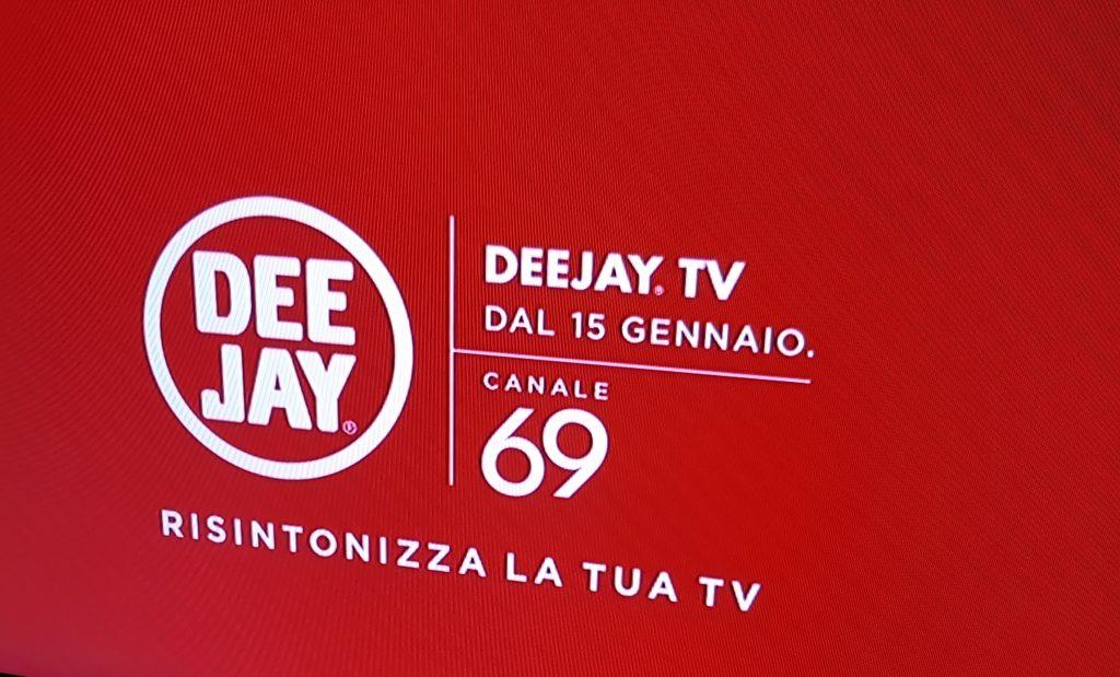 Dee Jay Tv 69 cartello 1024x619 - DTT. Radio on tv: torna DeeJay sul 69. Ma non sarà symulcasting h24 con radio