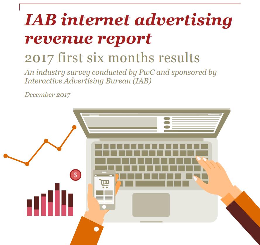IAB report - Digital Adv. Gli Stati Uniti in sei mesi hanno speso 40.1 miliardi $ in pubblicità digitale