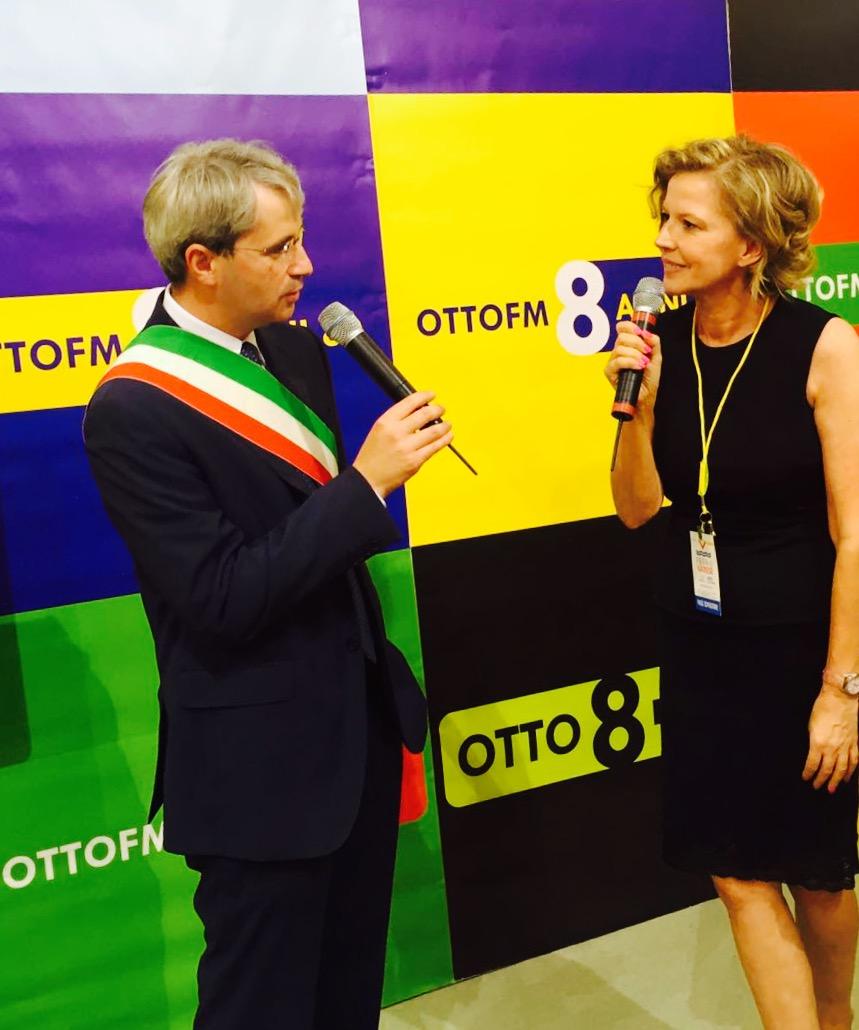 Patrizia Cavallin intervista - Radio. OttO fm ed NBC Milano in co-branding: quando gli opposti si attraggono e si alimentano
