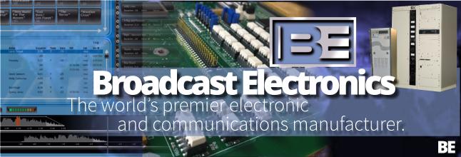 broadcast electronics - Radio e Tv. L'italiana Elenos acquista la storica Broadcast Electronics (USA)