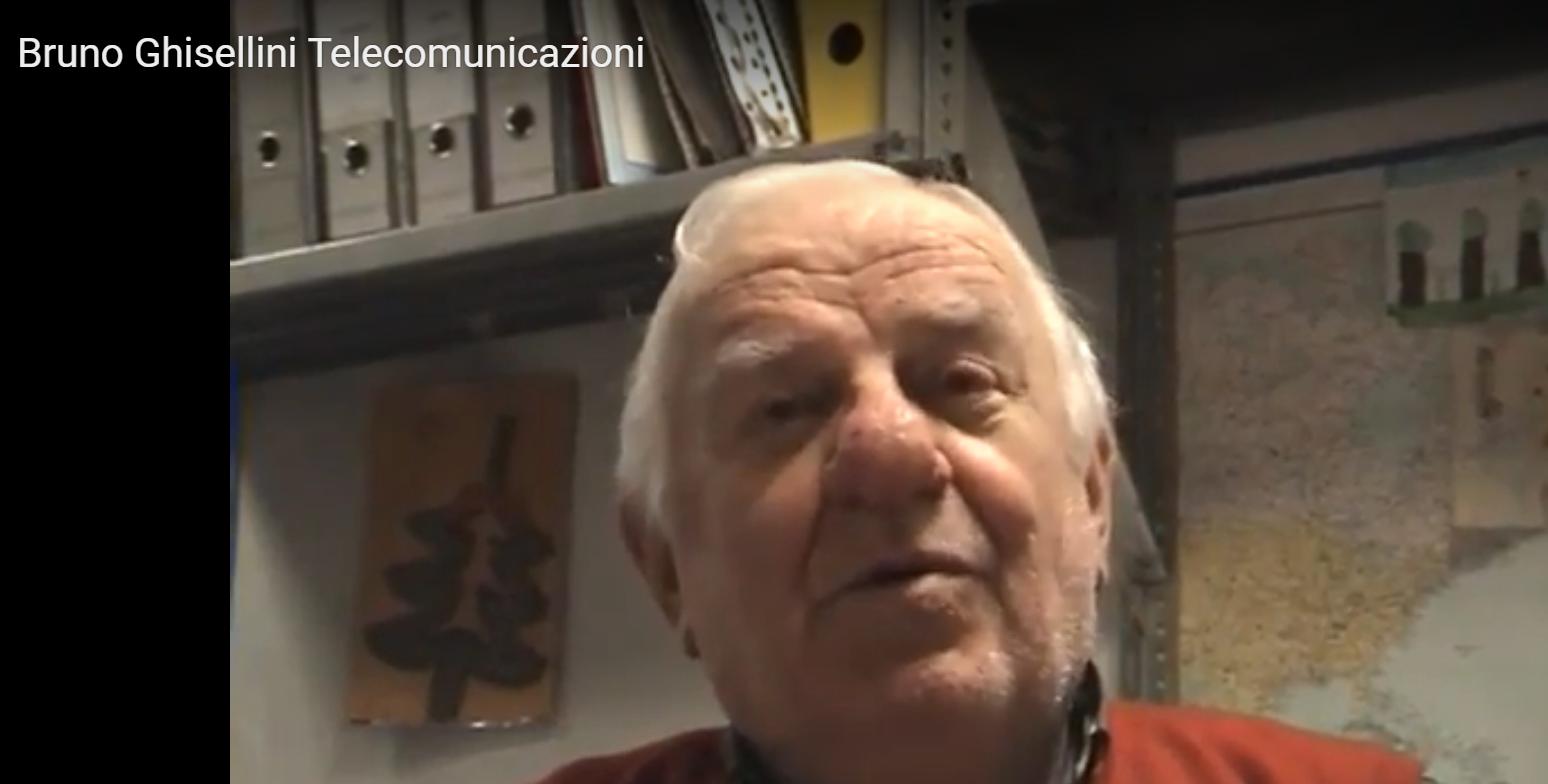 bruno Ghisellini - Radio e Tv. Scompare un altro pioniere delle telecomunicazioni: ci lascia Bruno Ghisellini