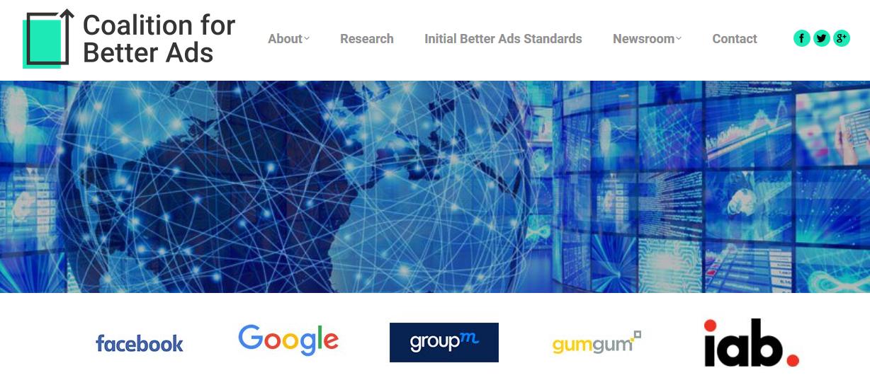 coalition for better ads - Web. Google e l'ad-blocker che prima analizza e poi blocca la pubblicità invasiva