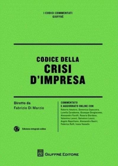 codice crisi impresa - Libri. Codice della crisi d'impresa