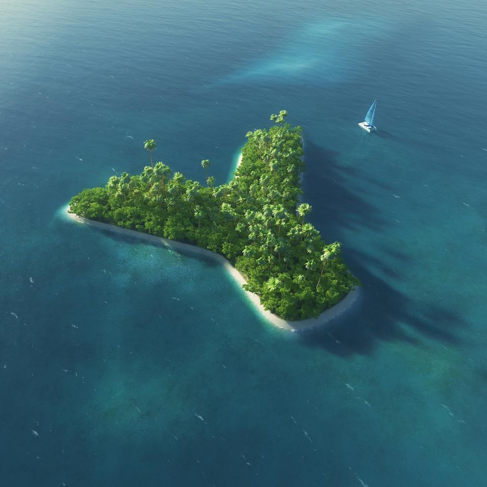isola a forma di y - Radio 4.0. Digitali e innovativi: Radio Yacht, l'isola di Roberto Barone