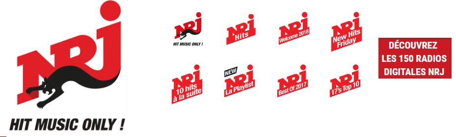 nrj brand bouquet - Radio e Tv 4.0. In Francia i broadcaster si preparano al futuro solo IP. NRJ con brand bouquet da 150 stazioni