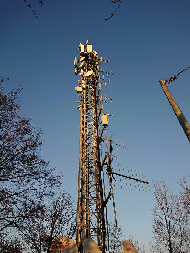 traliccio telecomunicazioni - Tlc. Agcom pubblica analisi distribuzione risorse spettrali titolari diritti d'uso frequenze terrestri per servizi di tlc