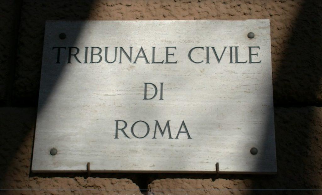 tribunale civile roma 1024x622 - Radio-Tv-Editoria. Giurisdizioni di merito: Tribunale Roma conferma criteri distintivi del lavoro dipendente in ambito giornalistico