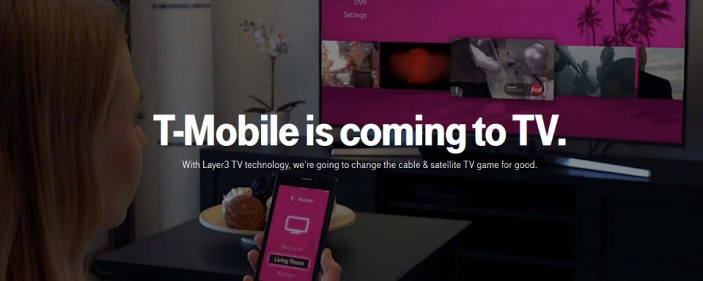 T Mobile Layer3 TV 1024x410 - Tv 4.0. Europa alla conquista del mercato USA: T-Mobile (Deutsche Telekom) acquista Layer3 Tv. Target: quote mercato di DirecTV Now, YouTube TV e Sling TV
