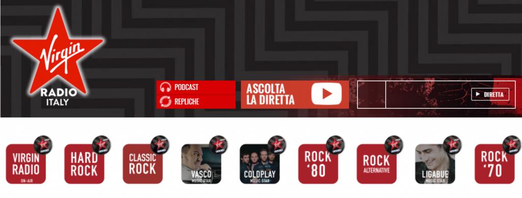 Virgin Radio sito 1024x389 - Radio. Virgin riorganizza l'organigramma: Benedetti station manager; Volo a United Music sul progetto brand bouquet Radiomediaset