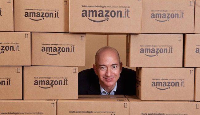 """amazon bezos - OTT & e-Commerce. Amazon lancia il guanto di sfida ai commercialisti con """"Servizi IVA"""". Preoccupazione dei liberi professionisti"""