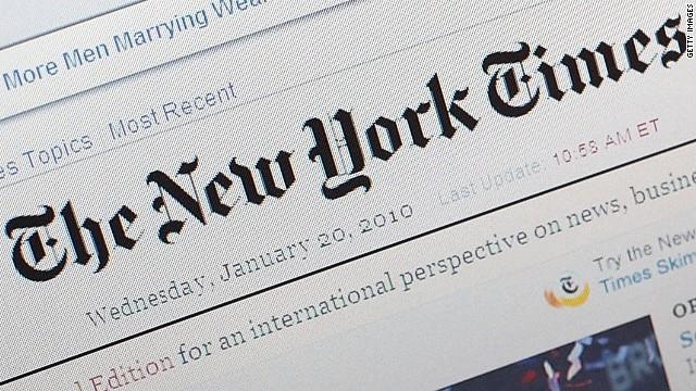 new york times - Editoria. USA, il New York Times si rialza grazie agli abbonamenti digitali