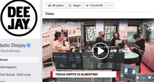 Radio Deejay, facebook, ascolti IP