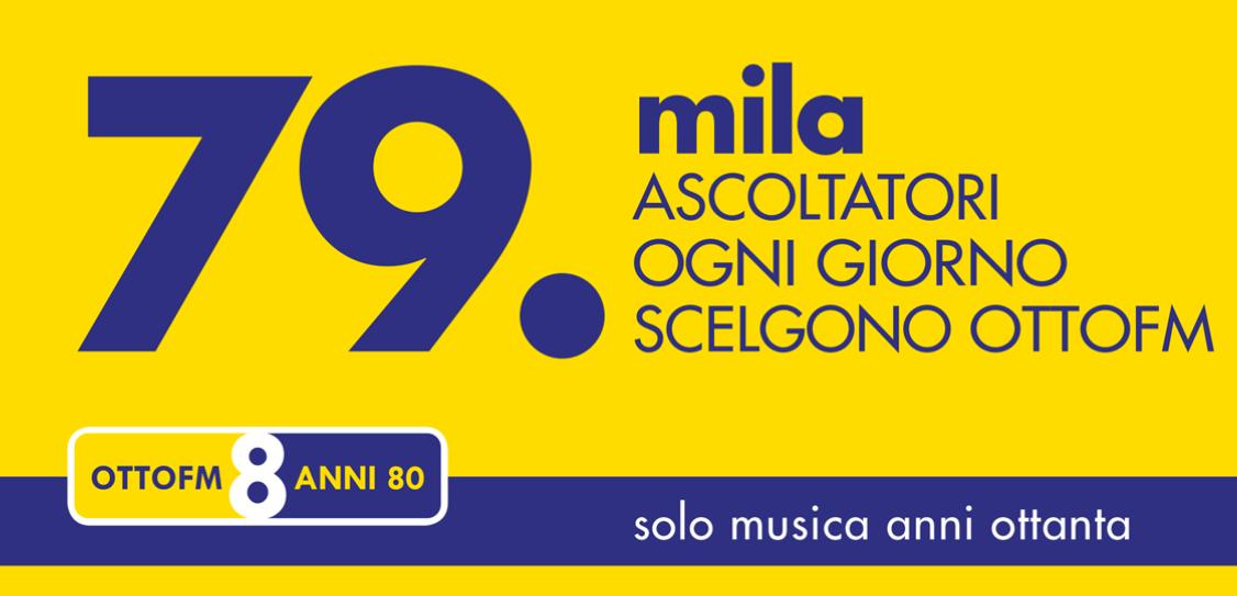 """otto fm 79000 ascolti - Radio, Lombardia. Anche Otto FM """"solo musica anni '80"""" in DTT regionale, su LCN 627"""