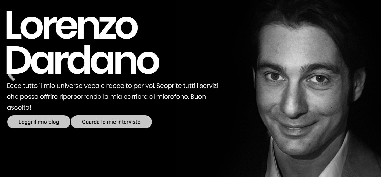 Lorenzo Dardano sito - Web & Radio. Lorenzo Dardano lancia il nuovo blog rivolto (anche e soprattutto) ai radiofonici. Si parte con una serie di interviste a Lualdi
