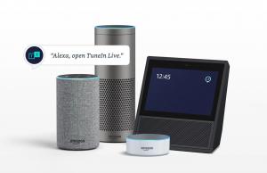 Alexa, TuneIn, Echo, Amazon
