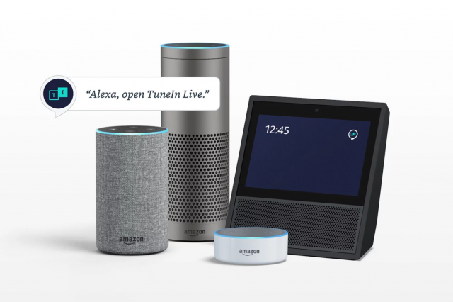 Alexa, TuneIn, Echo, Amazon